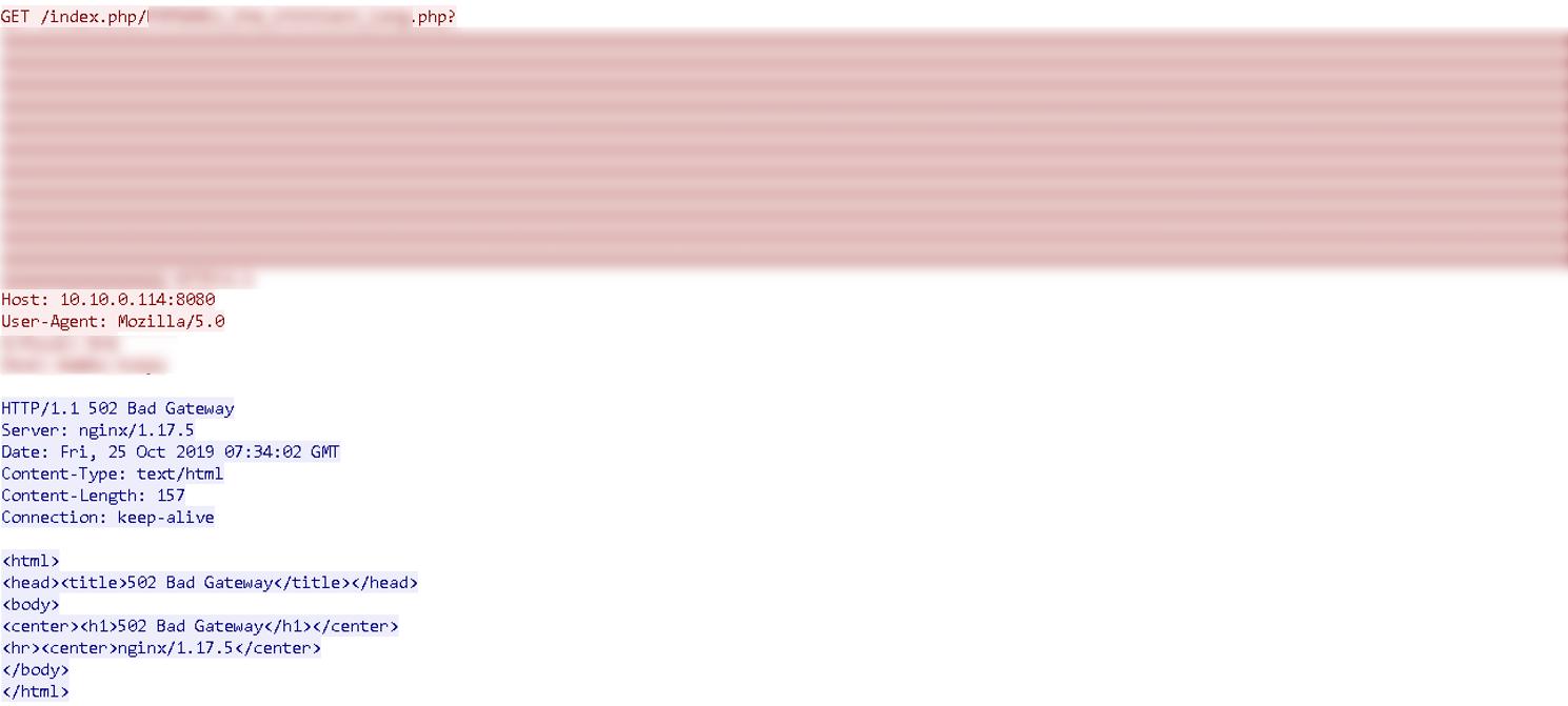 調査リクエストに対して脆弱な応答を確認した例_2