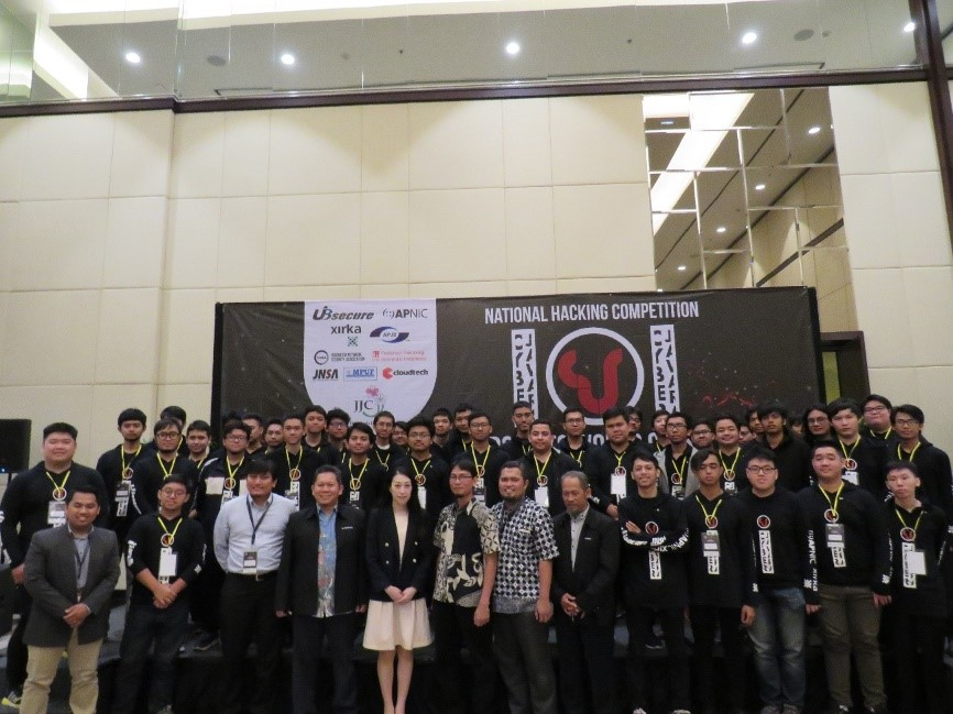 SecureSketCH_CYBER JAWARA2019集合写真